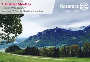 2. MeetUp Hüttenwanderung @ Wanderparkplatz Flintsbach am Inn